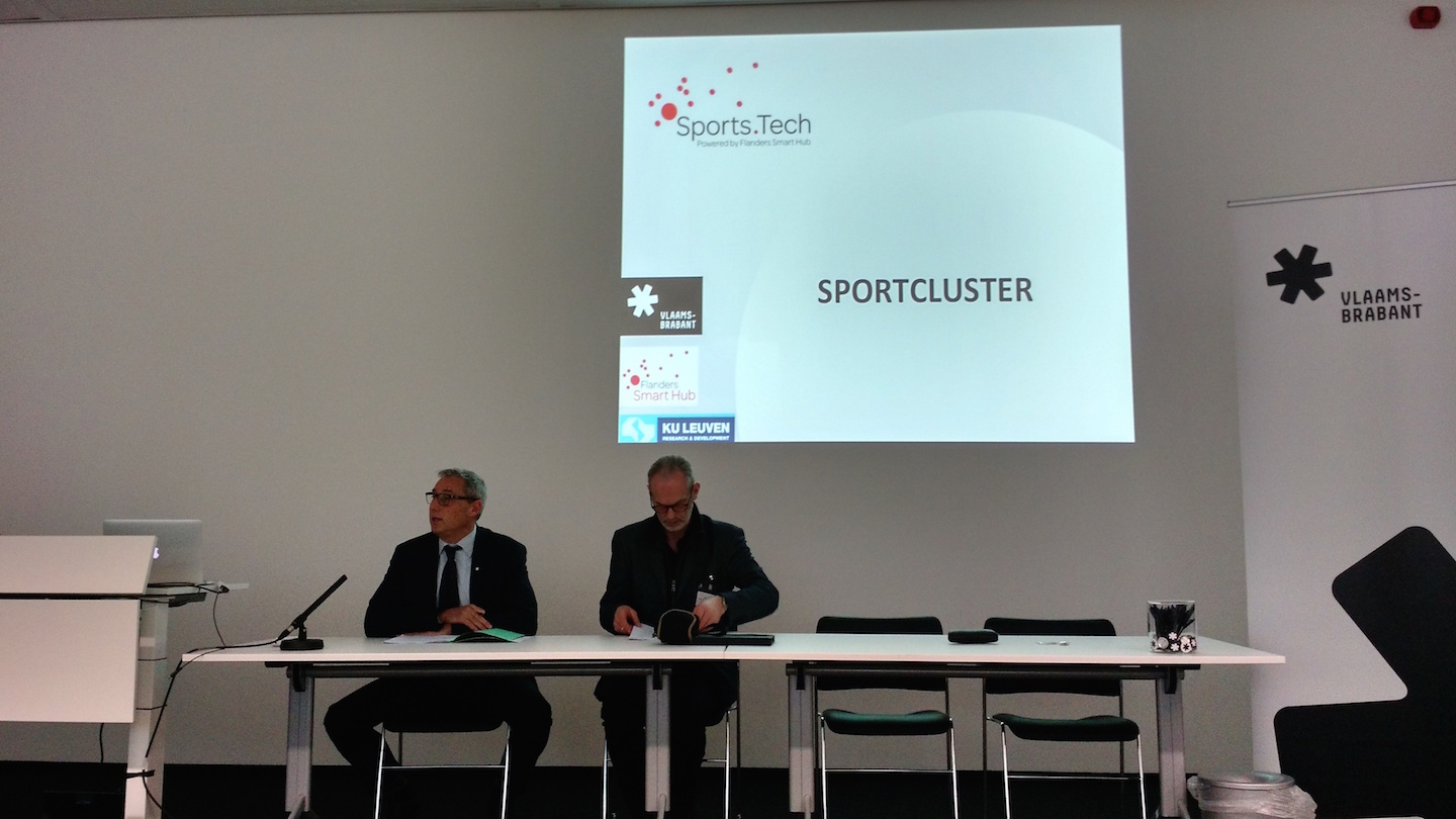 Persconferentie Sports.Tech 21 januari 2015