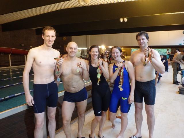 Masters LAQUA op medaillejacht